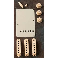 Fender Kit Accesrorios  Stratocaster Aged White