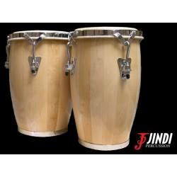 JND JDB-108 set de mini congas de madera