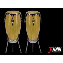 JND JDB-113 set de congas, acabado brillante