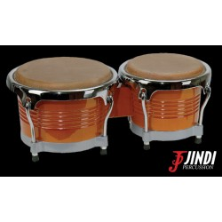JND JDB-104 bongós de arce, acabado brillante