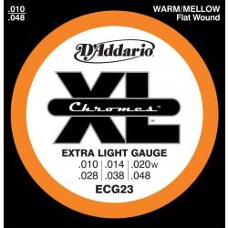 D'Addario ECG23 - Chromes Extra Light [10-48]