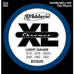 D'Addario ECG25 - Chromes Light [12-52]
