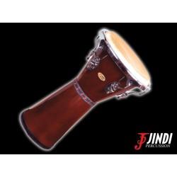 """JND JDB-110ATQ djembe 11"""" de madera"""