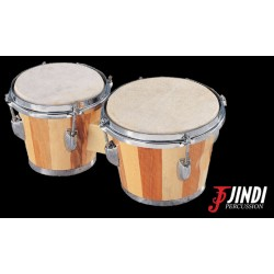 JND JDB-105 bongós de arce, a rayas