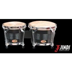 JND JDB-105B bongós de arce, tradicionales, con torneado