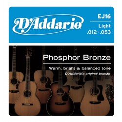 D'Addario EJ16 - Phosphor Bronze Light [12-53]