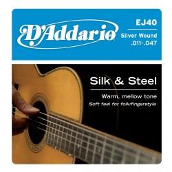 D'Addario EJ-40 Silk & Steel