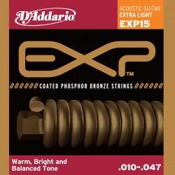 D'Addario EXP15 - Phosphor Bronze Extra Light [10-47]