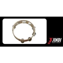 JND T10-16 pandereta de madera, 16 sonajas