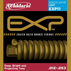 D'Addario EXP11 - Bronze Light [12-53]