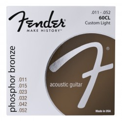 Fender 60CL Phosfor Bronze 11-50