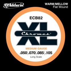 D'Addario ECB82 Chromes Medium [50-105] Long Scale