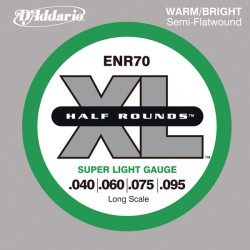 D'Addario ENR70 - XL Half Rounds Super Light