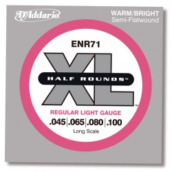 D'Addario ENR71 - XL Half Rounds Regular Light
