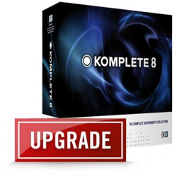 NATIVE INSTRUMENTS KOMPLETE 8 UPD < 3, 4, 5, 6, 7