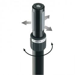 """König & Meyer 21360-000-55 - Barra Extensión con """"Ring Lock"""""""