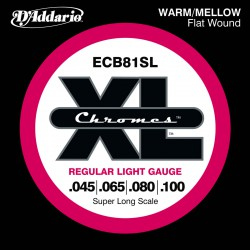 D'Addario ECB81SL Chromes Light [45-100] Super Long Scale