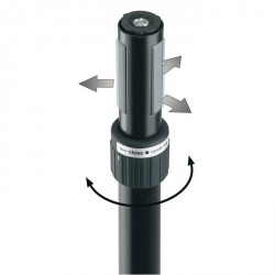 "König & Meyer 21440-009-55 - Soporte para Bafle ""Ring Lock"""