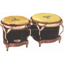 Latin Percussion Bongoes Matador Wood M201 Dark Brown