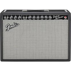 "Fender 65 Deluxe Reverb - 22 Watts / 112"" Jensen 7 Black Tolex"