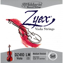 D'Addario Clásica DZ410 Zyex Escala Larga M