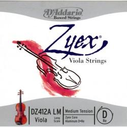 D'Addario Clásica DZ412A Zyex - Re