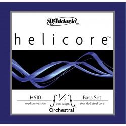 D'Addario Clásica H610 Helicore Orquestral 1/2 Me