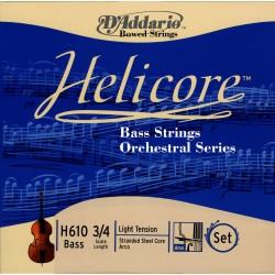 D'Addario Clásica H610 Helicore Orquestral 3/4 L