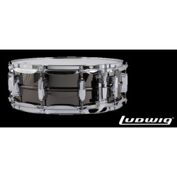 LUDWIG LB416 14x5 Black Beauty laton