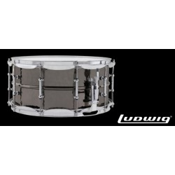LUDWIG LB417KT 14x6,5 Black Beauty Hand Hammered laton