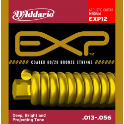 D'Addario EXP12 - Bronze 80/20 Medium [13-56]