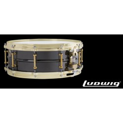 LUDWIG LB416BT 14x5 Black Beauty laton