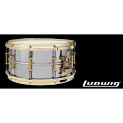 Ludwig LUDWIG LB402BBTWM 14x6,5 Black Beauty laton cromado