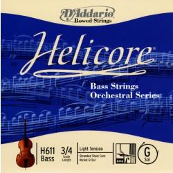 D'Addario Clásica H611 Helicore Orquesta - Sol