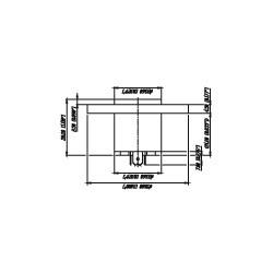 Neutrik NL 4 MPR - Conector Chasis Speakon redondo