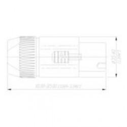 Neutrik NL 8 FC - Conector aéreo Speakon 8 Pines