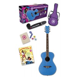 Daisy Rock 14-6207 Pixie Starter Pack Blue Sparkle