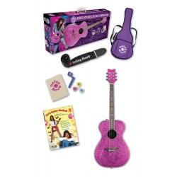 Daisy Rock 14-6212 Pixie Starter Pack Pink Sparkle