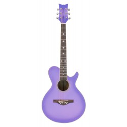 Daisy Rock 14-6262 Wildwood Acoustic Purple Daze