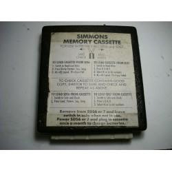 Simmons Memory Cassette