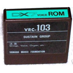 Yamaha DX7 Voice ROM VRC-103 Data Cartridge
