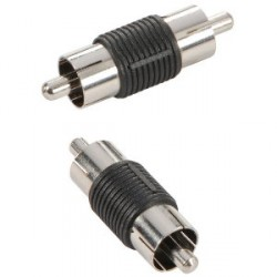Adam Hall Connectors 7553 - Adaptador de RCA hembra a RCA macho