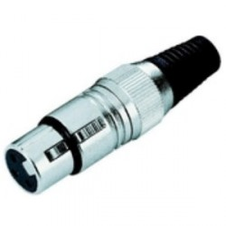 Adam Hall Connectors 7847 - Conector aéreo XLR hembra