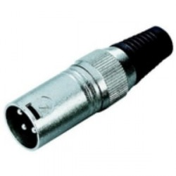 Adam Hall Connectors 7848 - Conector aéreo XLR macho