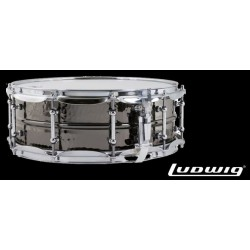 LUDWIG LB418KT 14x5 Black Beauty laton