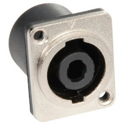 Adam Hall Connectors 7875 - Conector Chasis SPKn 4 Pines