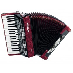 Hohner BRAVO III (80 BAJOS) RED