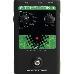 TC-Helicon TC Helicon VoiceTone D1 Doubling & Detune