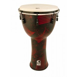 Toca Percussion Djembé SFDJM-9AR Abstrac Red