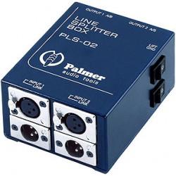 Palmer Audio Tools Palmer Pro PLS 02 - Splitter de Línea de 2 Canales